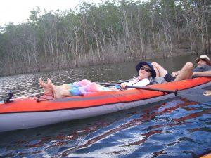 Camping Kayak Comfort