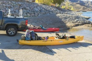 Maximum Load of kayak