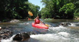 Kayak for river