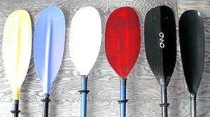 Kayak Paddle design