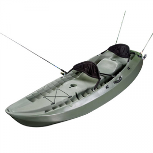Lifetime 10 Foot, Two Person Tandem Fishing Kayak to kayaking with dog