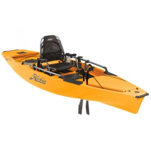 Hobie Mirage 180 Pro Angler 14 Kayak Golden Papaya - Best Fishing SUP Kayak for the Money