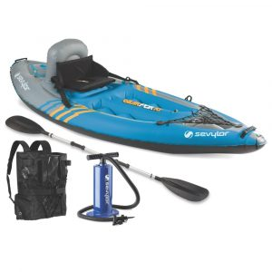 Sevylor QuickPak Coverless Sit-On-Top Kayak one of the best children's kayak