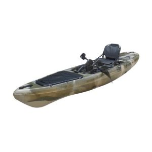 BKC UH-PK13 Pedal Drive Solo Traveler 13 Foot Kayak - best kayak for fishing with foot pedals in 2019