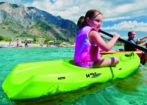 Stability of a child kayak