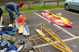 Folding Strength of Kayak