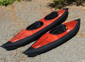 Inflating and Breakdown Time of Folding Kayak
