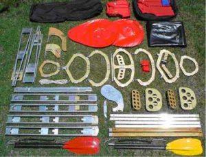 Material for Folding Kayak