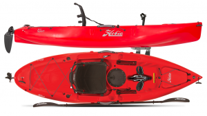 Hobie 2018 Mirage Sport Pedal Kayak - right pedal powered a kayak
