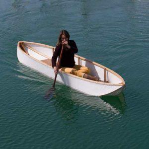 Seating in Folding Kayak