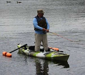 Stand up angler kayak