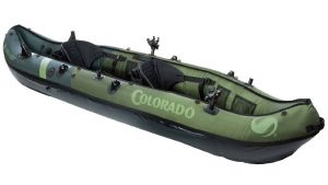 Sevylor Coleman Colorado 2-Person Fishing Kayak - top rated dog-friendly kayak