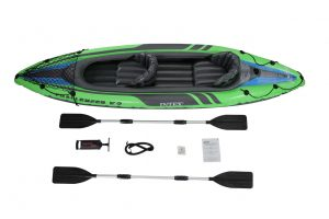Intex Challenger K1 1-Person Inflatable Kayak - top rated kids inflatable kayak