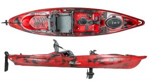 Old Town Predator PDL Pedal Fishing Kayak - high-quality pedal kayak