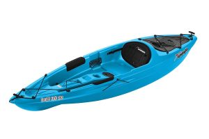 SUNDOLPHIN Sun Dolphin Bali SS 10-Foot Sit-on-top Kayak - Best SUP Angler Kayak for the Money