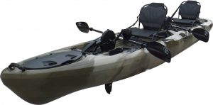 Brooklyn Kayak Company BKC UH-PK14 14-foot Sit On Top Tandem Pedal Kayak - best pedal kayak in 2019