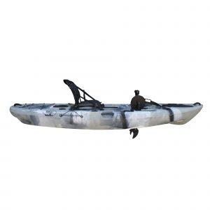 Brooklyn Kayak Company BKC UH-PK11 Pedal Drive Solo Rover - one of the best pedal fishing kayak in 2019