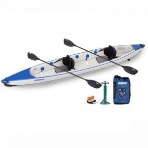 Sea Eagle Razorlite 473rl Inflatable Kayak Pro Carbon Tandem Package - best lightweight 2 person kayak