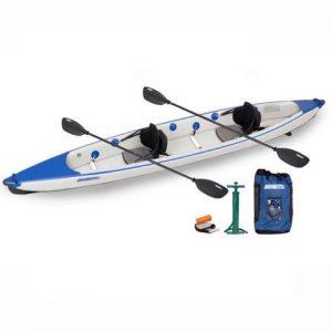 Sea Eagle Razorlite 473rl Inflatable Kayak Pro Carbon Tandem Package - best lightweight 2 person kayak