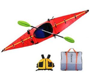 Elevens Cruise Plus Foldable and Portable Kayak - best portable kayak in 2019