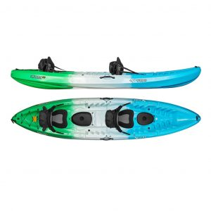 Vibe Kayaks Sea Ghost 110 11 Foot Angler Sit On Top Fishing Kayak - one of the best one person ocean kayak in 2019
