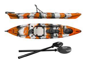 Vibe Kayaks Sea Ghost 130 Angler Kayak - best ocean fishing kayak in 2019