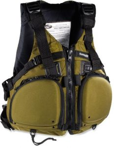 Stohlquist Fisherman Personal Floatation Device - top rated life vest for kayak