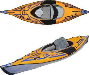 ADVANCED ELEMENTS AdvancedFrame Sport Kayak - one of the best collapsible kayak in 2019