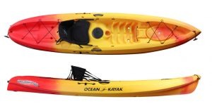 Ocean Kayak Scrambler 11 Sit-On-Top Recreational Kayak - good ocean kayak for the money