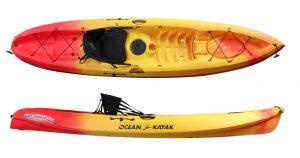 Ocean Kayak Scrambler 11 Sit-On-Top Recreational Kayak - good ocean kayak for the money